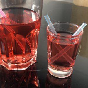 Das zweite Glas für den Besuch ;-)